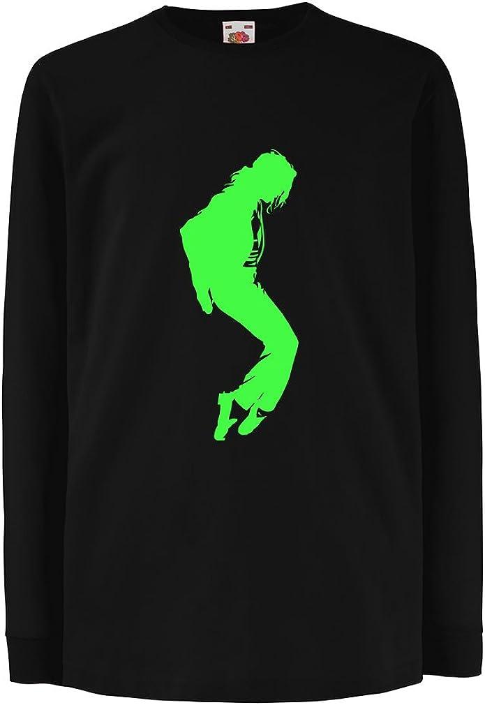 Fan Art Pop King lepni.me T-Shirt Bambini//Ragazze Adoro la Musica di MJ danzatrice degli Anni 80 Vestiti per Club