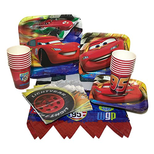 Party Bundle With Plates, Napkins, Cups & Tablecover (16 Guests) ()