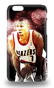 High Impact Dirt Shock Proof 3D PC Case Cover For Iphone 6 NBA Portland Trail Blazers Brandon Roy #7 ( Custom Picture iPhone 6, iPhone 6 PLUS, iPhone 5, iPhone 5S, iPhone 5C, iPhone 4, iPhone 4S,Galaxy S6,Galaxy S5,Galaxy S4,Galaxy S3,Note 3,iPad Mini-Mini 2,iPad Air )