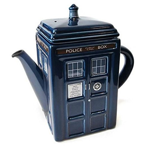 Doctor Who TARDIS Ceramic Teapot officially licensed DR (Teapot Doctor Who)