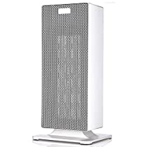 Ceramic heater,Electric heater Adjustable Tower heater Energy saving Table Under-Desk Bathroom waterproof -B 37x18cm(15x7inch)