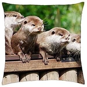 friends fretten animals animal - Throw Pillow Cover Case (18