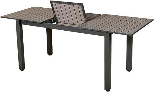 Les Jardins Table Balcon Exterieur Rectangulaire Extensible ...
