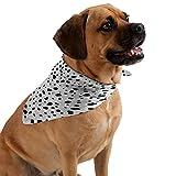 Deny Designs Rebecca Allen Miss Monroes Dalmatian Pet Bandana, Medium