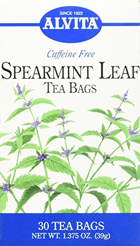 (Alvita Tea Bags Spearmint Leaf -- 30 Tea)