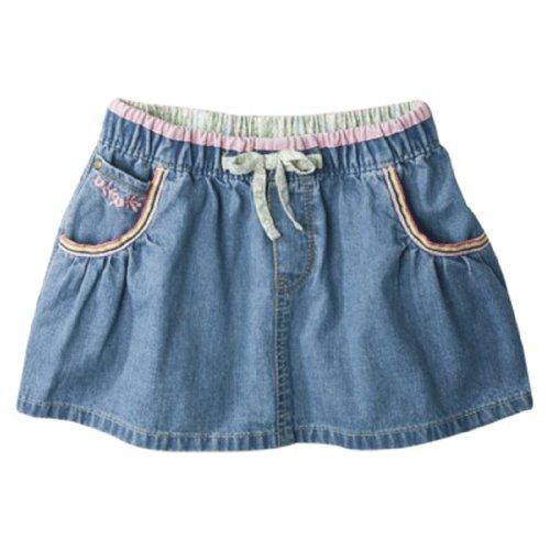 Genuine Kids By Oshkosh Toddler Girls London Wash Skirt (3T)