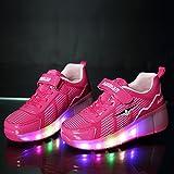 KODOO Kids Single Wheel Sneakers Led Light Roller