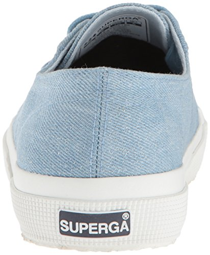 Sneaker Denim Women's Denimlurexw Fabric 2750 Superga tvBT4
