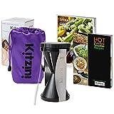 Vegetable Spiralizer Kit - Spiral Slicer Set - Inc. Storage Bag, Cleaning Brush and 2 Recipe eBooks