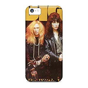 Protective Hard Phone Case For Iphone 5c With Support Your Personal Customized Beautiful Mr Big Band Pictures AlissaDubois