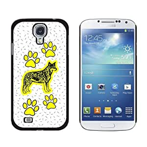 New style Australian Cattle Dog of Specialness Snap-On Hard Protective Case for Samsung Galaxy S4 - Non-Retail Packaging - Black