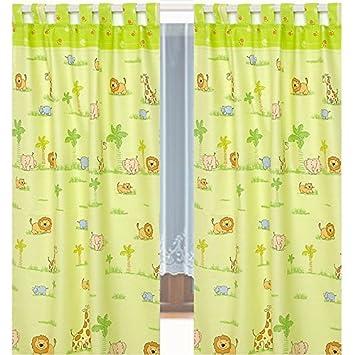 Rideau Chambre d\'enfant 155 x 95 cm (Lot de 2) d44 Rideaux rideau ...