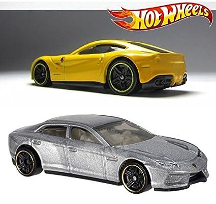 Buy Hot Wheels Ferrari F12 Berlinetta Lamborghini Estoque Hw City