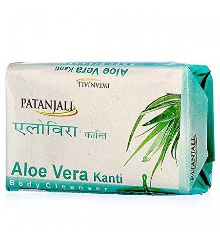 Health & Beauty 4 Patanjali Kanti Aloe Vera 75 Gm Bath And Body Cleanser Soap Bath & Body
