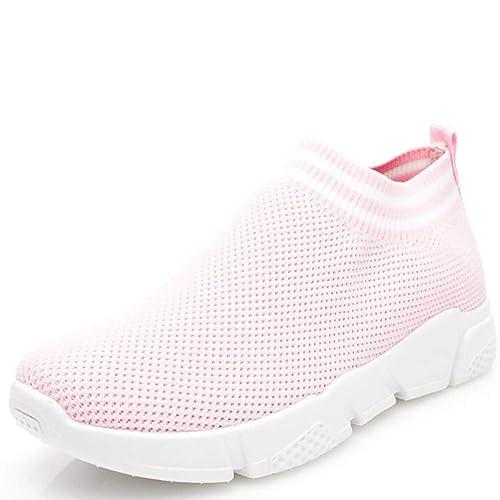 Wonvatu - Zapatillas de Andar Mujer, (Pink1936), M: Amazon.es: Zapatos y complementos