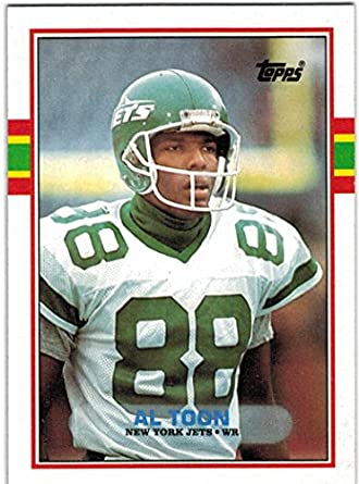 89e9553dc41 1989 Topps   Traded New York Jets Team Set with Al Toon   Freeman McNeil -