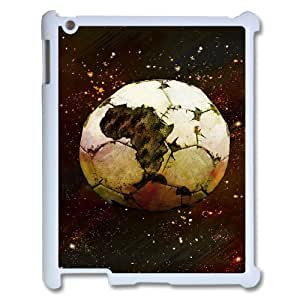 Personalized AXL379704 Durable Cell Phone Case For Ipad 2,3,4 Cover Case w/ Football Soccer Ball