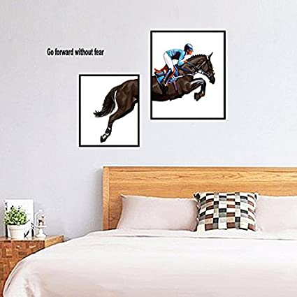 HCCY Creative bedroom living room restaurant emulation wall photo