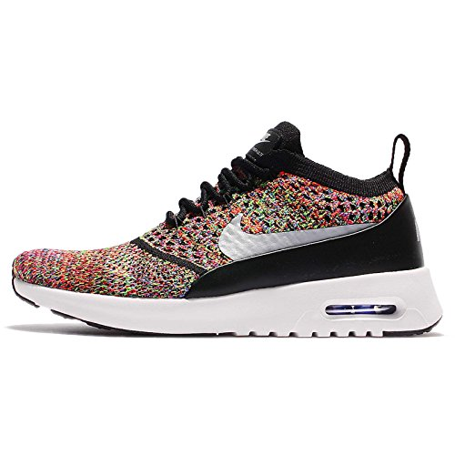 NIKE Women's W Air Max Thea Ultra FK, Bright CRIMSONWOLF Grey-Black, 5.5 US