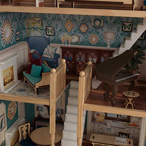 51TfZuQG1IL - KidKraft So Chic Dollhouse with Furniture