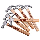 Personalized Hammer, Custom Text, Father's Day & Husband Gift Ideas