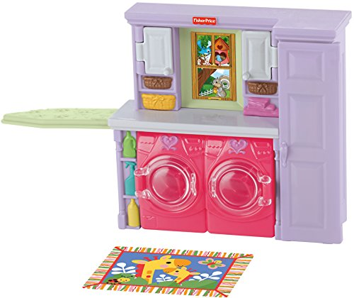 Fisher Price Loving Family Laundry Playset