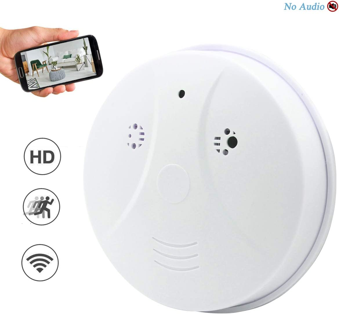 Amazon Com Seahon Camera Smoke Detector Wireless Hidden Spy