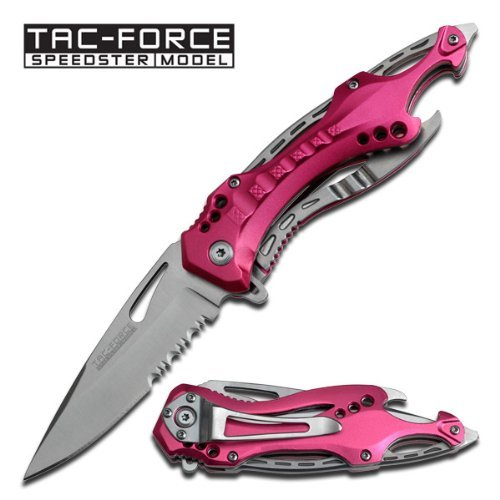 Tac Force TF-705PK Gentleman's Assisted Opening Knife (4.5-Inch Closed), Outdoor Stuffs