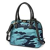 Vbiger Satchel Handbags Leather Handbags Dome Bag Top Handle Bag For Women