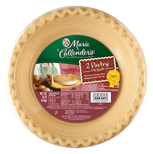 (Marie Callender's Frozen Pastry Pie Shells, 16 Ounce )