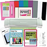 Cricut Explore Air 2 Machine Bundle - Pens, Tool, Vinyl Pack, Designs & Inspiration