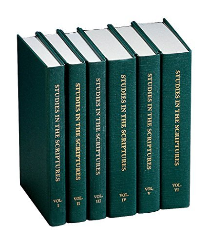 Studies in the Scriptures (6 Volumes) by Charles T. Russell - Shopping Mall Brunswick