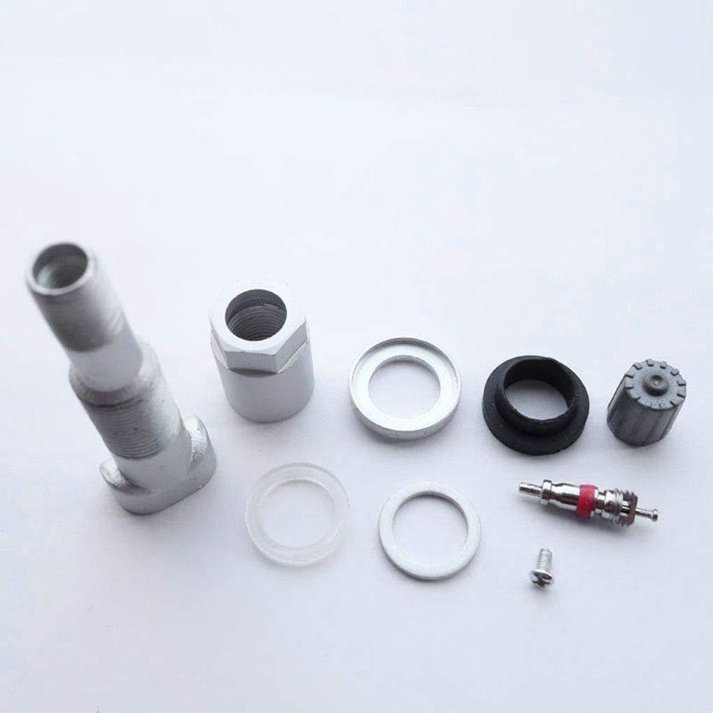 Lorjoy 4pcs r/éparation de pneus Surveillance de la Pression Stem syst/ème de Valve Kit de Remplacement pour Jeep Dodge Chrysler