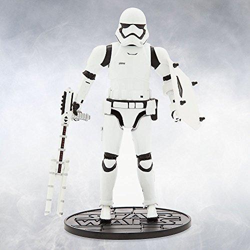 [Star Wars Riot Gear Stormtrooper Elite Series Die Cast Action Figure 6 1/2 Inch Star Wars: The Force] (Stormtrooper Disney)