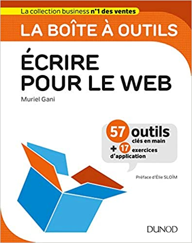 Livre La boîte à outils Ecrire pour le Web