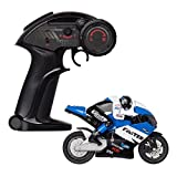 RC Motorcycle Dirt Bike Toy For Kids - 4 Channel