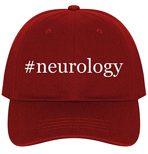 #Neurology - A Nice Comfortable Adjustable Hashtag Dad Hat Cap, Red