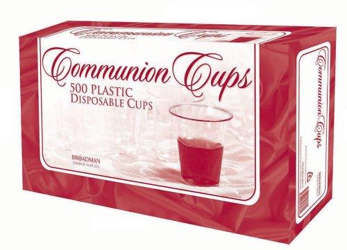 500ct Broadman /& Holman Communion Cups-Plastic