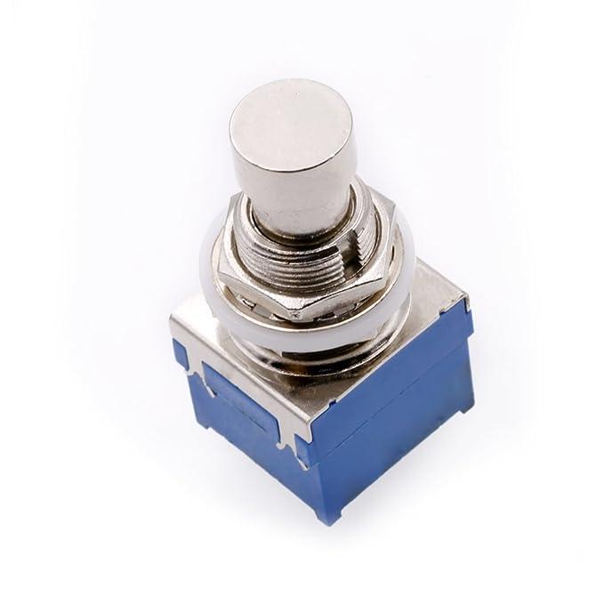 Kitara Pin 3PDT Foot Switch Gitarre Effektpedal Blue Box Stomp ...