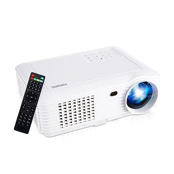 Amazon.com: HD Proyector de vídeo, joyhero 2500 lúmenes. Max ...