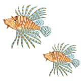 Underwater Tropical Lion Fish Wall Sticker Mural