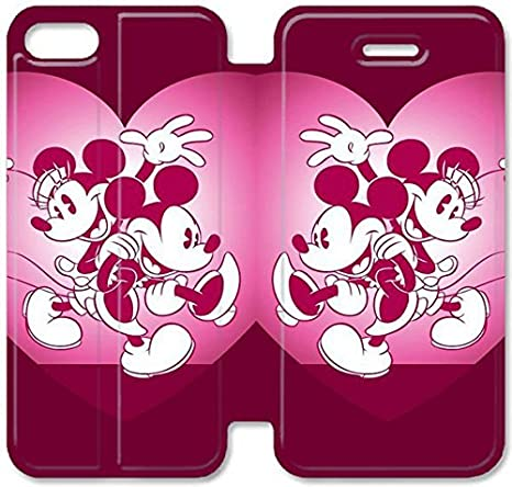 Funda iPhone 5C Cuero,Wonderful Tema diseño de [Disney ...