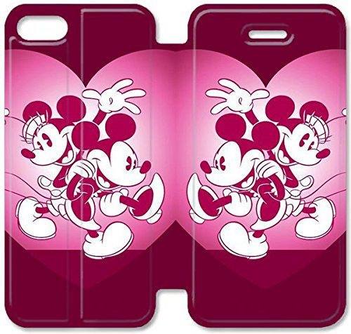 Funda iPhone 5 5S SE Cuero,Wonderful Tema diseño de [Disney ...