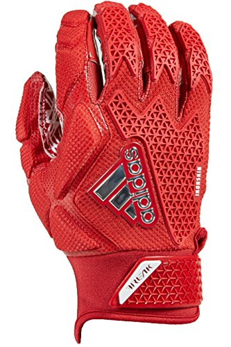adidas Freak 3.0 Padded Receiver's Gloves, Red, Large