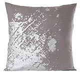 Gitika Goyal Home CCLMOGYSL Textures in Metal - 20'' Cushion Cover