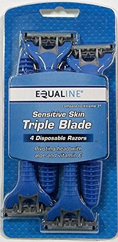 4-pack-triple-blade-sensitive-skin-disposable-razors-for-men-with-pivoting-head