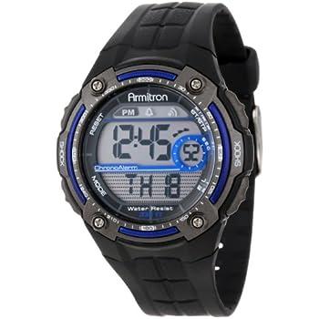 amazon com armitron sport men s 408089red chronograph round black rh amazon com