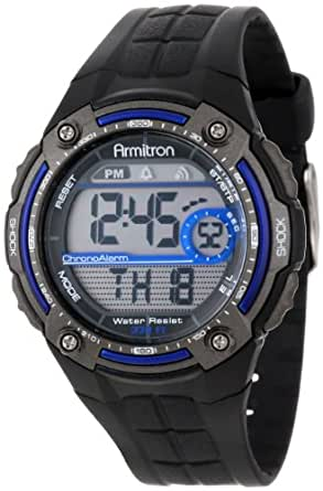 Armitron Sport Men's Sport Watch with Black Rubber Band