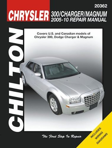 amazon com automotive repair manual for chrysler 300 dodge charger rh amazon com Dodge Charger Manual Dodge Charger Manual