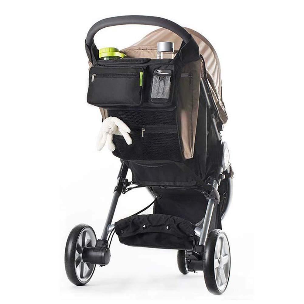 Buggy und gro/ße Roller Buggy Organizer Tasche mit Taschen f/ür Kinderwagen//Kinderwagen